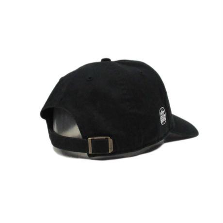 CLUBHAUS  mini Wedgehog Dad hat'47 - Black