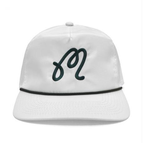 "MalbonGolf ""M"" Logo Rope Hat"