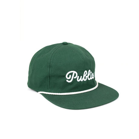 PUBLIC DRIP ROPE HAT-Green