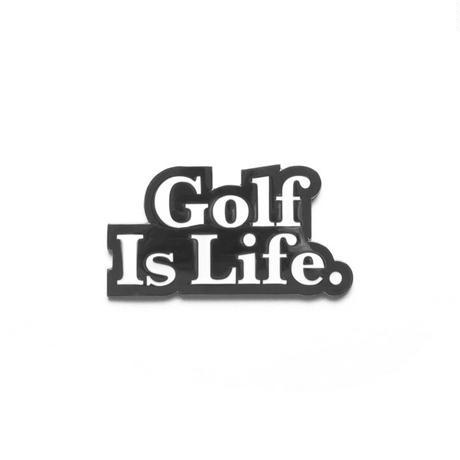 Malbon Golf Is Life Ball Marker