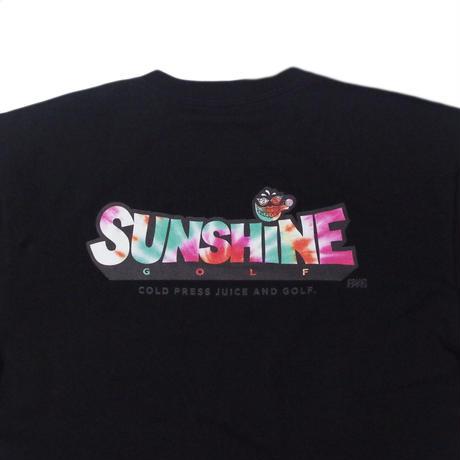 Sunshine Golf TieDye T-Shirt - Black/Kale
