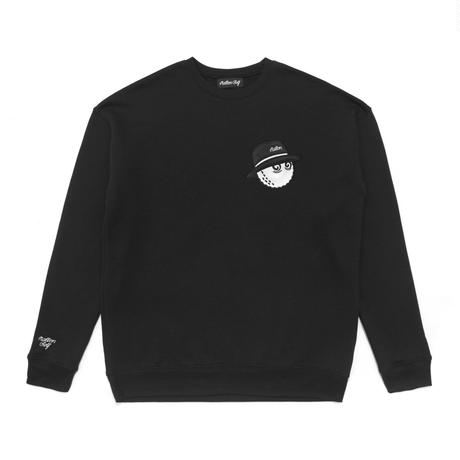 Malbon Golf Cooper Sweat Shirt Black