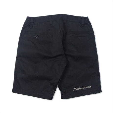 CheckYourHead Golfing Shorts - Black