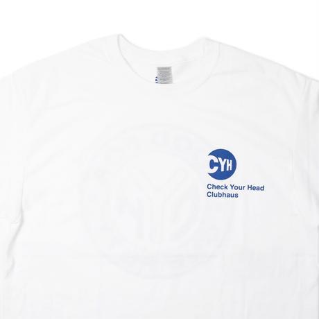 CheckYourHead CYH TOKEN Tee - White