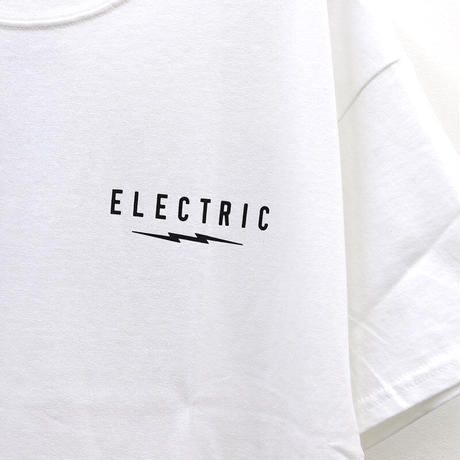 ELECTRIC UNDER VOLT LOGO TEE-White