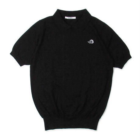 "SLOANE + Clubhouse Cotton Knit ""Skipper"" Black"
