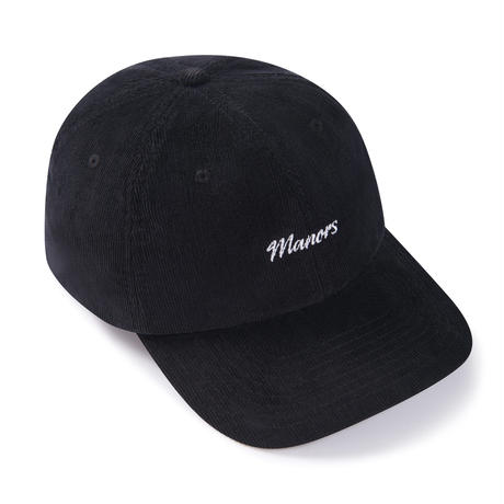 Manors Code Cap - Black