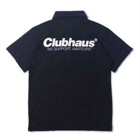 CLUBHAUS SquareCircle Polo SE- Black