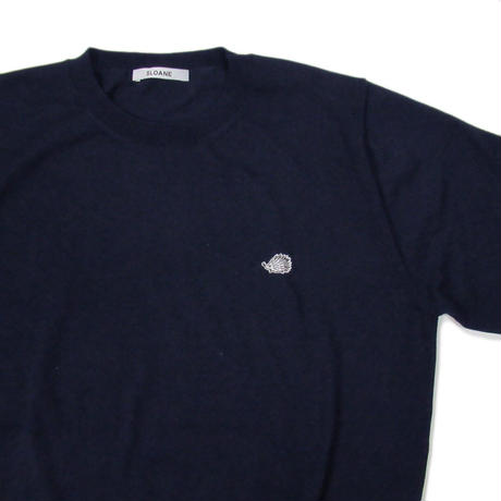 SLOANE X Clubhaus Crewneck Sweater - Navy