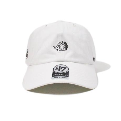 CLUBHAUS  mini Wedgehog Dad hat'47 - White