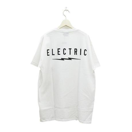 ELECTRIC ICON LOGO TEE-White