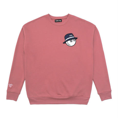 Malbon Golf Cooper Sweat Shirt Mauve