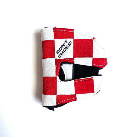 Metalwood Checkered Mallet Putter Cover