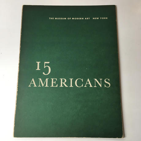 The Museum of Modern Art, New York 12/14/15/16 AMERICANS(4冊セット)