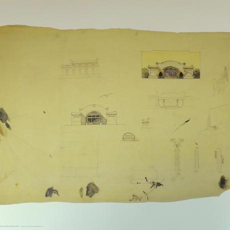 Otto wagner Drawing Portfolio No.7