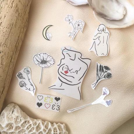 dru tattoo jewelry set