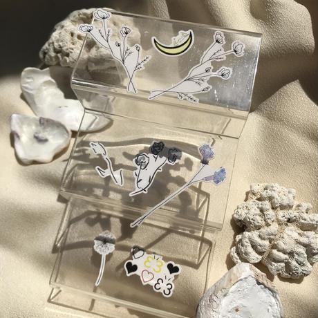 kacu tatoo jewelr set
