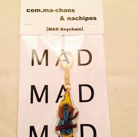 MAD Keychain     zombie     blue