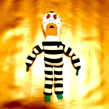 虫唾刑務所の脱獄囚(刺青 金星)