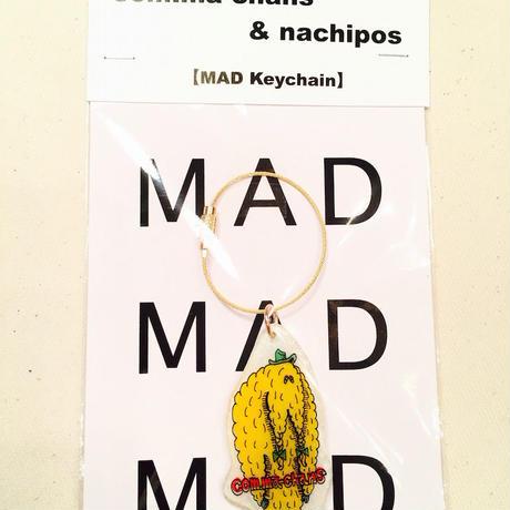 MAD Keychain     yeti     yellow