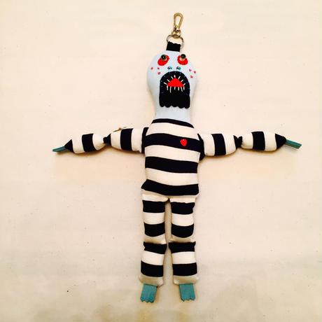 虫酸刑務所の脱獄囚(刺青 緑菊)