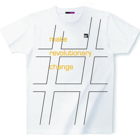 CMYK:LIMITED LINE T 2018 MAY『make revolutionary change』