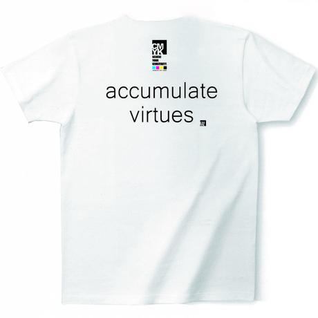 CMYK:LIMITED LINE T 2017 AUGUST『accumulate virtues』