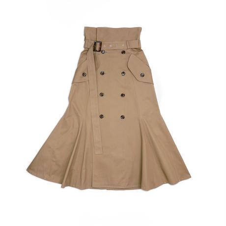 Trench Skirt / BEG