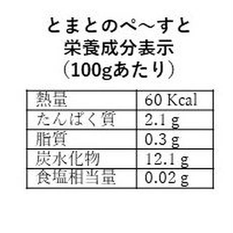 コロナ応援セール!【40%off】とまとのぺ~すと150g 5個 送料込 2592円 賞味期限2021.3下旬
