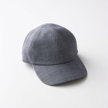 """CURLY カーリー """"CLIFTON 6P CAP """"Check""""キャップ"""