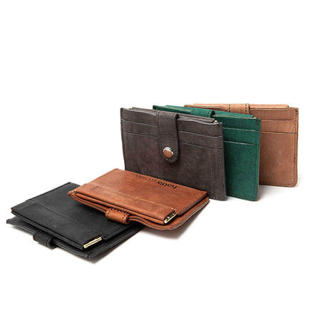 "hobo ホーボー ""NUBUCK COW LEATHER DOUBLE SNAP WALLET"""