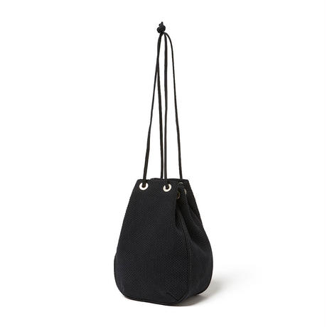 hobo / COTTON SASHIKO WEAVE DRAWSTRING BAG