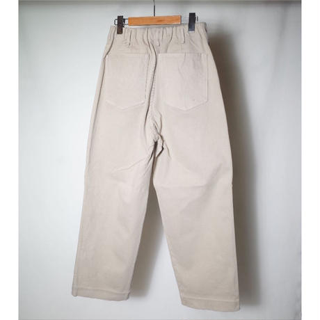 """CURLY カーリー""""SANDY BEZ 5P WIDE TROUSERS""""トラウザー"""