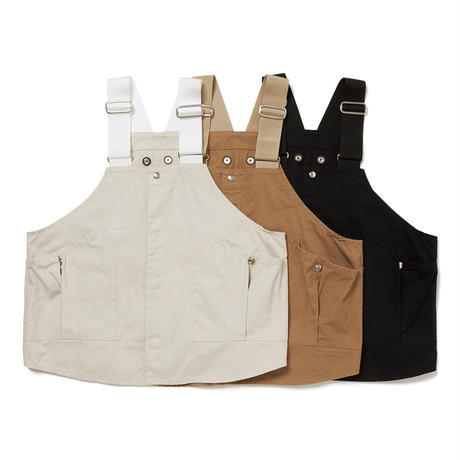 hobo / Cotton Twill Gardener Vest by LAND & B.C.