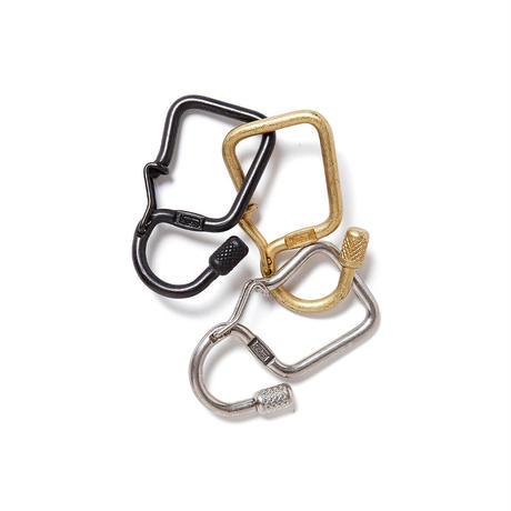 hobo / Brass Carabiner Key Ring