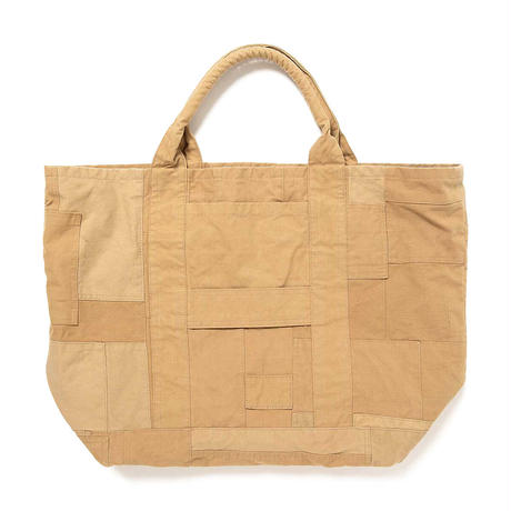 "hobo ホーボー ""COTTON FRENCH ARMY CLOTH PATCHWORK TOTE BAG L""パッチワークトート"