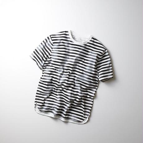 CURLY / FROSTED SS BORDER TEE