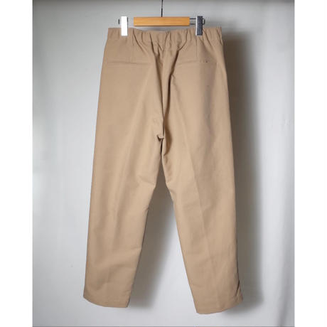 """LAMOND ラモンド """"DOUBLE WEAVE WIDE TAPERED TROUSERS"""" ワイドテーパードトラウザー"""
