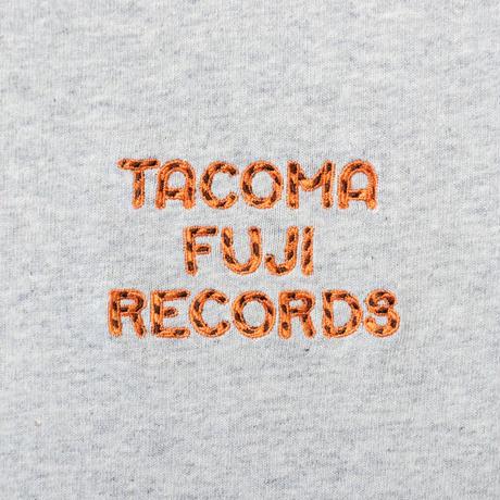 "TACOMA FUJI RECORDS タコマフジレコード ""TACOMA FUJI ZEBRA LOGO embroidery Tee designed by Jerry UKAI"""
