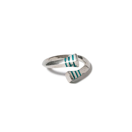 hobo  / 925 SILVER LINE WRAP RING