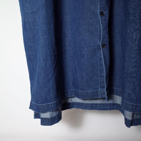 """ORDINARY FITS オーディナリーフィッツ """"STAND COLLOR WORK ONEPIECE"""" スタンドカラーワークワンピース"""