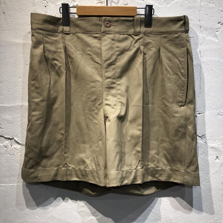 1960s FRENCH ARMY CHINO SHORTS DEAD STOCK