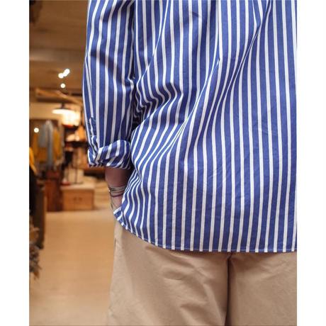 A VONTADE / Banded Collar Shirts -80/2×60 Typewriter-
