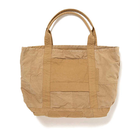 "hobo ホーボー ""COTTON FRENCH ARMY CLOTH PATCHWORK TOTE BAG M""パッチワークトート"