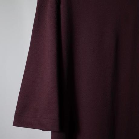 "LAMOND ラモンド "" SUVIN COTTON 5分袖 T-shirt""スビンコットンTシャツ"