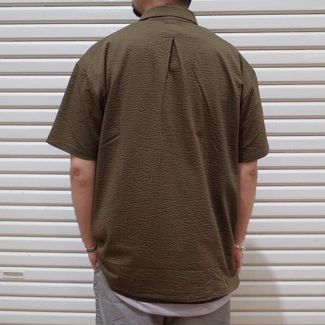 "CURLY / PROSPECT S/S SHIRTS ""SEERSUCKER"""