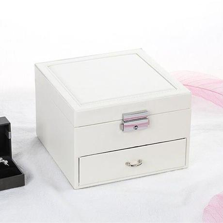 ミラー付きアクセサリー収納ボックス OPB0061