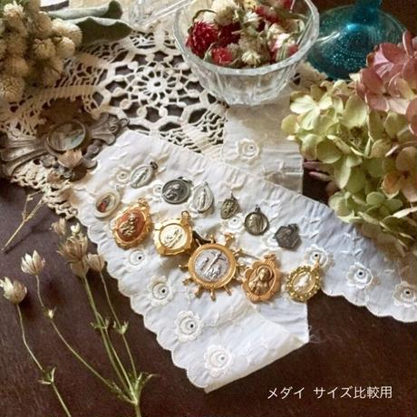 Vintage Medaille or Charm (聖ユダ タダイ・メダイ)- type*D