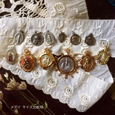 Vintage Medaille or Charm (ファティマのマリア・メダイ)- type*E