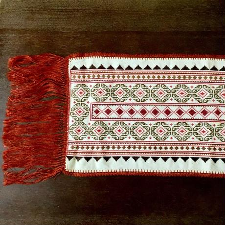 Hungary - Anthique :Cross stitch / Table center cross